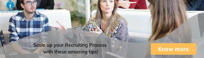 Good impression in Recruiting process