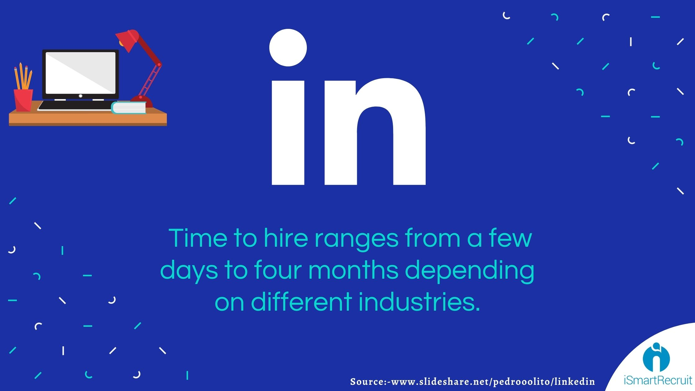 According to LinkedIn, the time to hire ranges from a few days to four months depending on different industries
