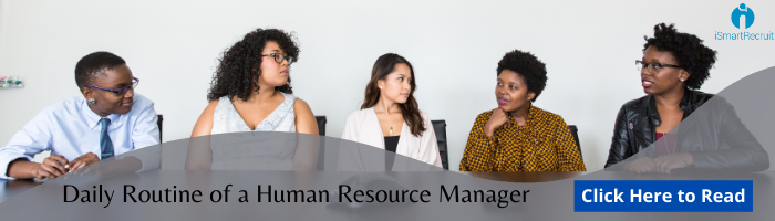 Daily Routine of a Human Resource Manager