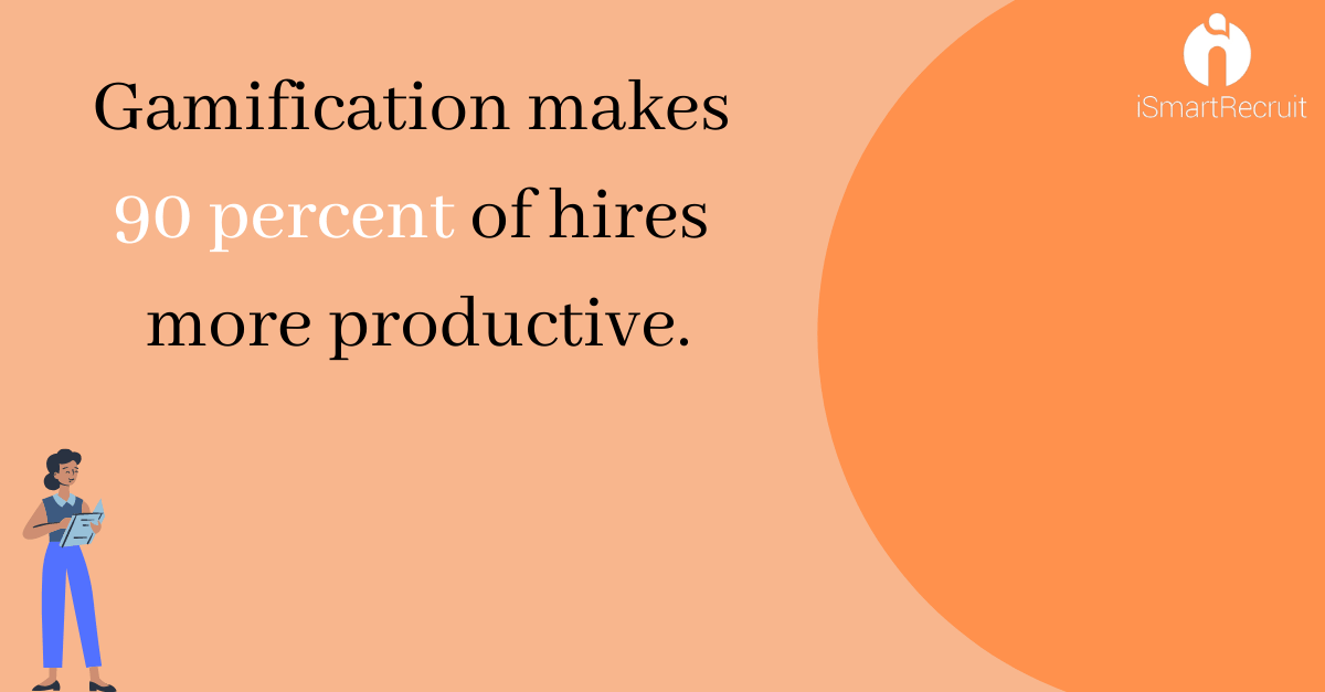 Gamification make 30 percent of hires more productive