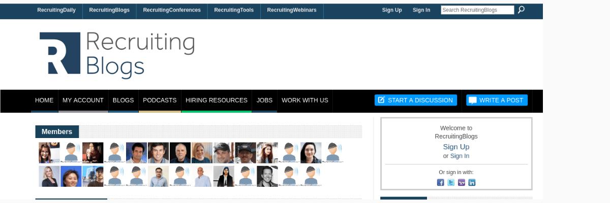 Recruiting Blog